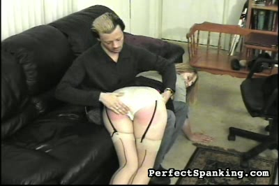 Spanking Blog : A -cup cutie, spanked and paddled by mans and woman.!