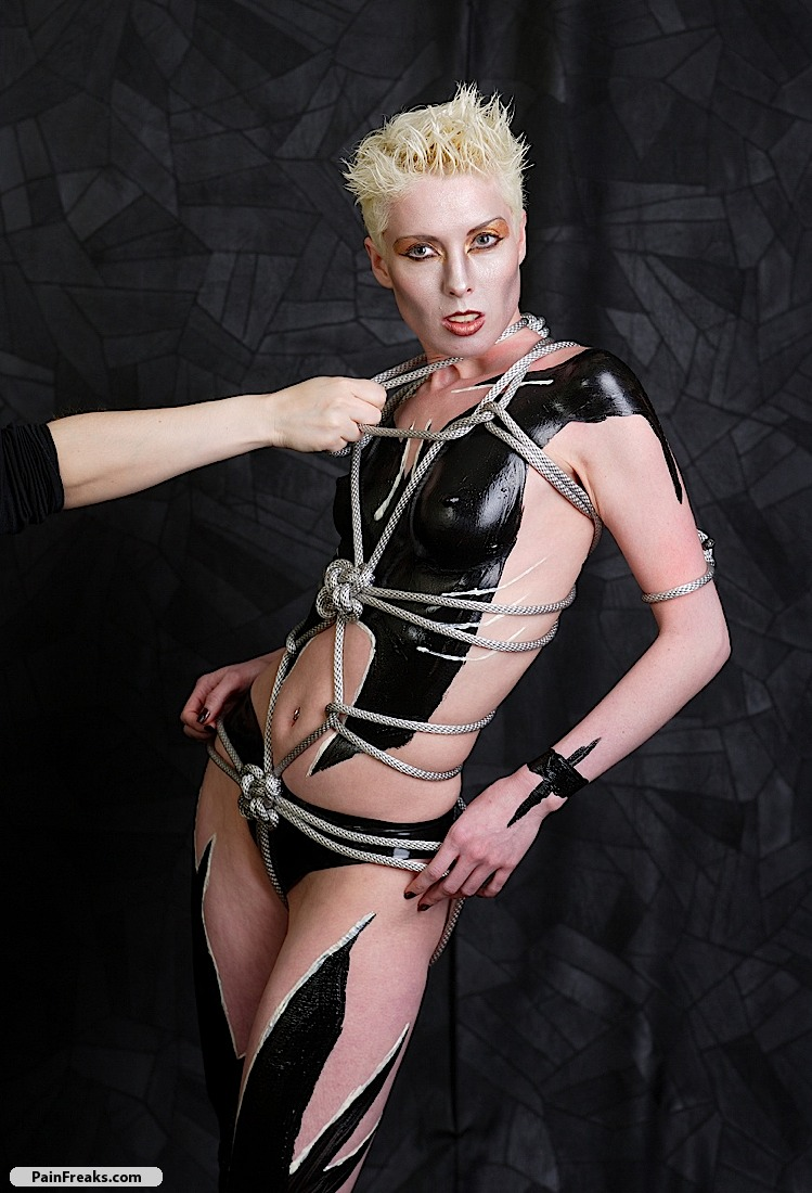 Latex body painting gallery