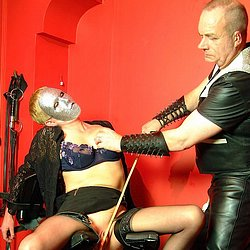 01 Back Pain Relief Roller   Latex and Leather Domination 2