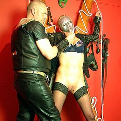 02 Restraints For Women Bdsm   Latex and Leather Domination 2