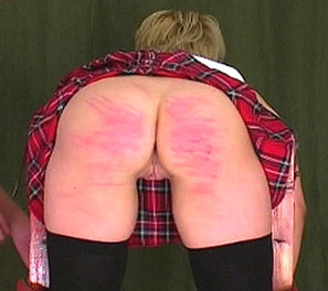 soundly spanked