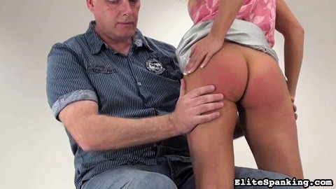 Preview Elite Spanking - Bare Handed Spanking 74