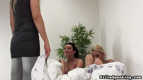 Preview Elite Spanking - Naughty Sleepover 24
