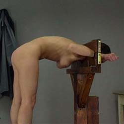 spanking bum