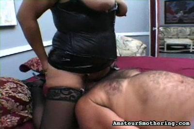 Amateur Nudes : BBW Is Bad-hind end honey!