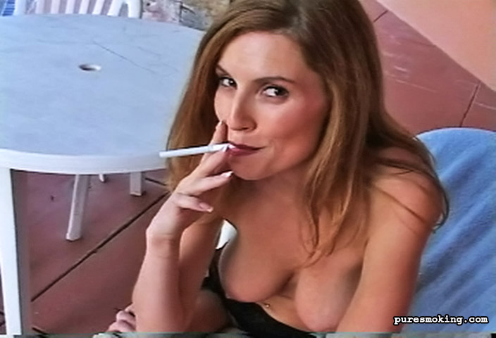 Smoking fetish video clips