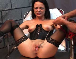 trailerfhg Lesban Bdsm   Electro Pain Training  Nina Hartleys Private Sessions