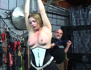 Bondage Porn : Suspended Punishment!