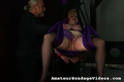 Bondage Porn : subby Plumper!