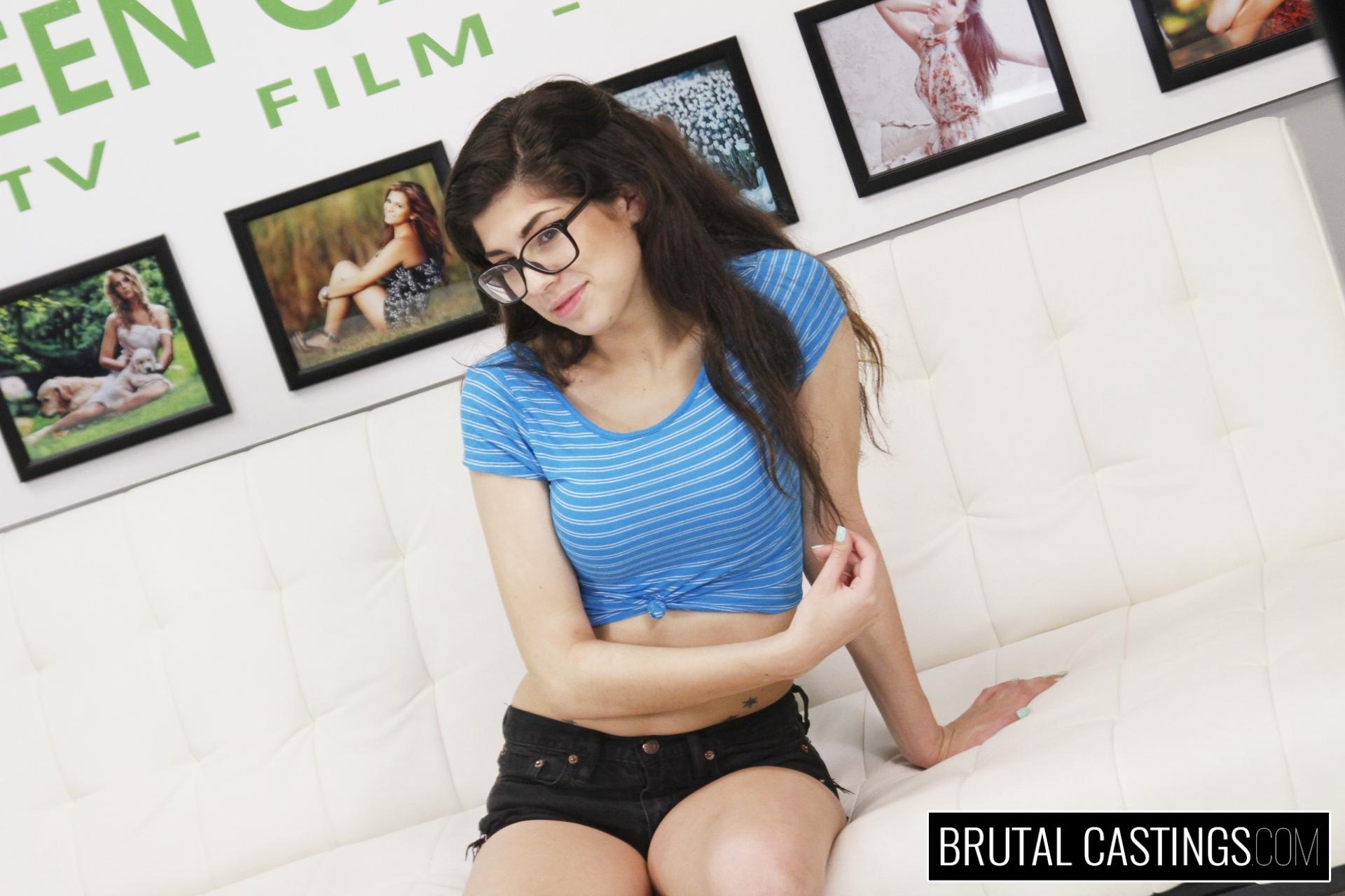 Ava Taylor Brutal Casting