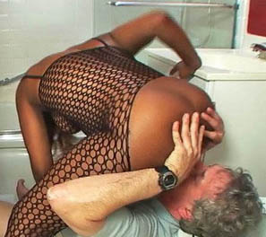 Smothered with Fishnets Ebony Facesitting Femdom Videos