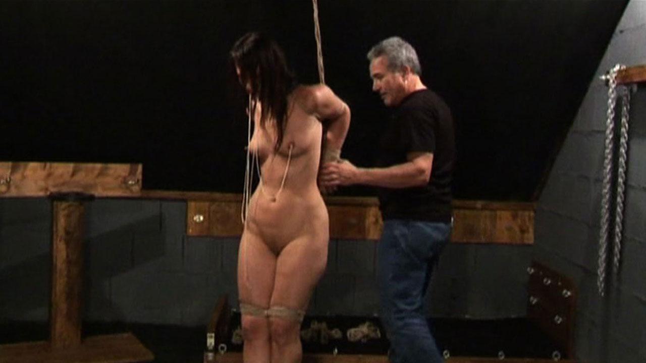 rope around neck fetish