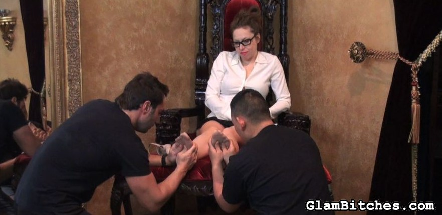 Preview Glam Bitches - Domina tutors him again 23