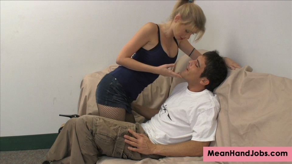 Preview Mean HandJobs - Horny & Excited Vanessa Vixon Wants to Bust Balls