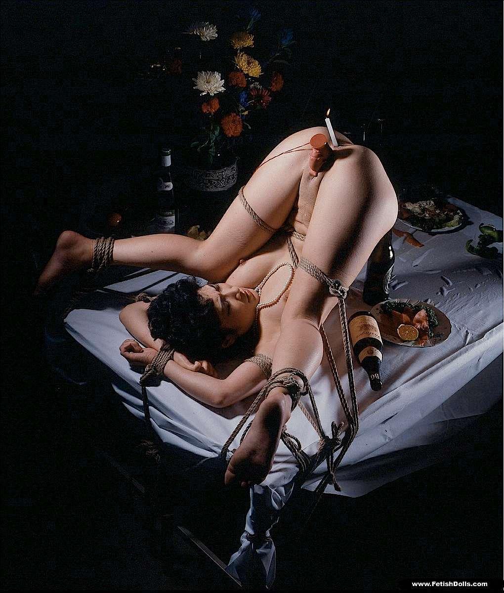 Hot wet lesbian bondage