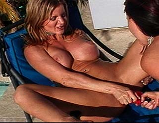 Amber Michaels and Angelica Sin 4 LezDom Clips