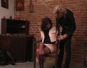 Brunette Captive Torture BDSM sex picture