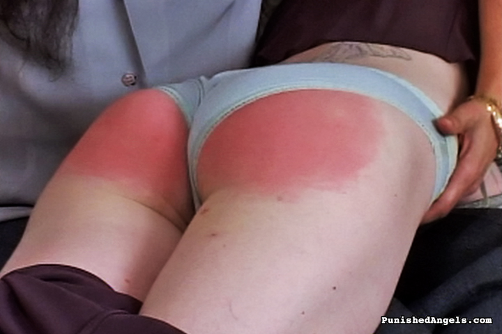 Red ass spank agree with