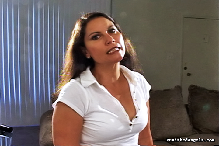 01 Mother In Law Spanked Me Butt Naked   The Messy Girl! Sarah Gregory Spanking