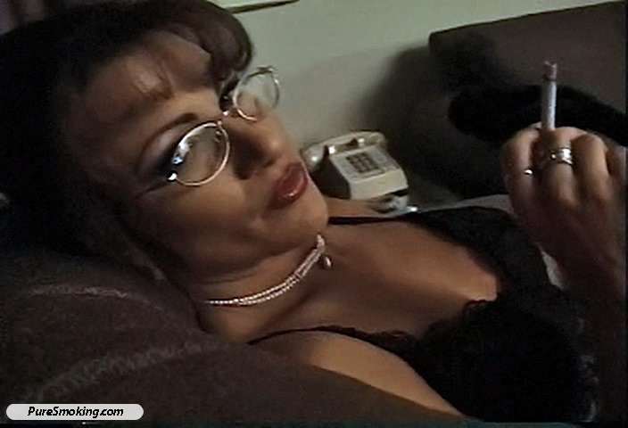 03 Smokin Tyrez   Sexy Librarian on a smoke break Smokihg Holes