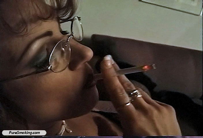04 Smokin Tyrez   Sexy Librarian on a smoke break Smokihg Holes