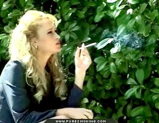 03 Young Smoking Blondes   The Smoking Goddess Smokihg Holes
