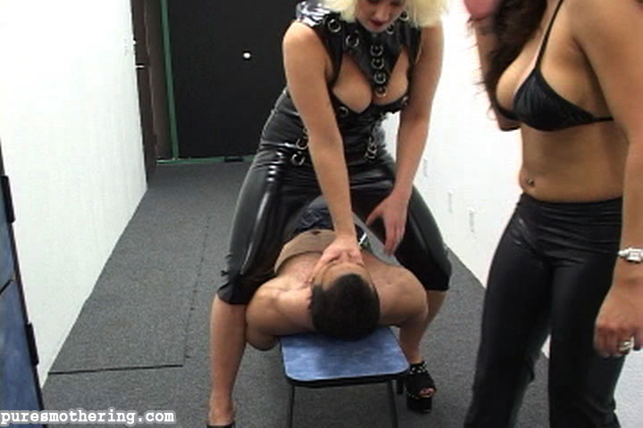 02 Fem Dom Cigarette Torture   Cuffed and Smothered