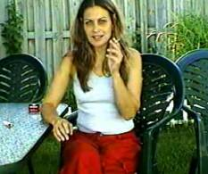 02 Beatiful Women Smoking   Gina Raw