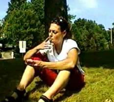03 Beatiful Women Smoking   Gina Raw